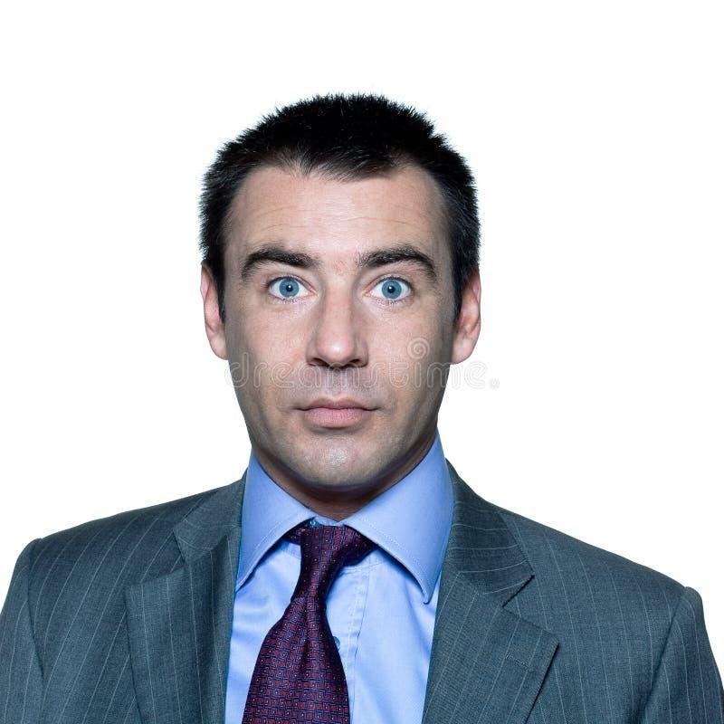 Download Shocked Handsome Man Wide Open Eyes Stock Image - Image: 21164921