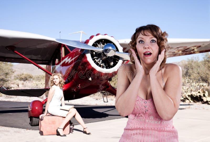 Download Shocked passengers stock image. Image of surprised, woman - 11948847