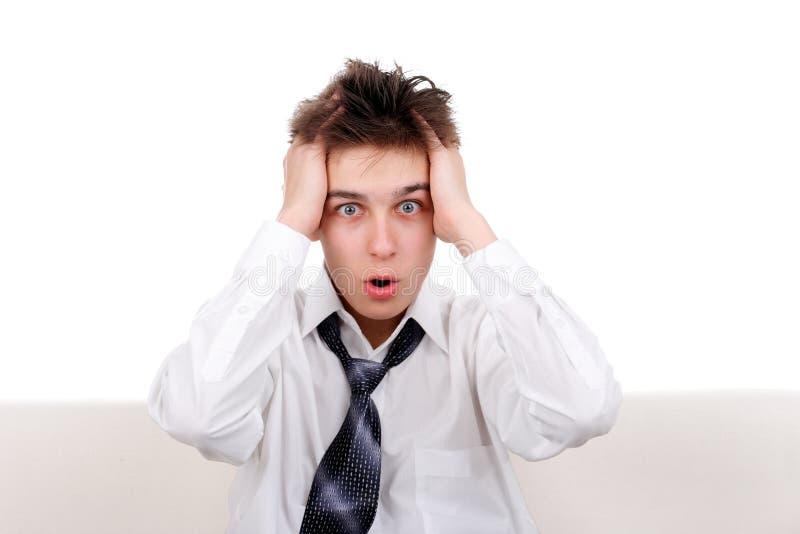 Download Shocked Teenager stock photo. Image of dishevelled, eyes - 27687302