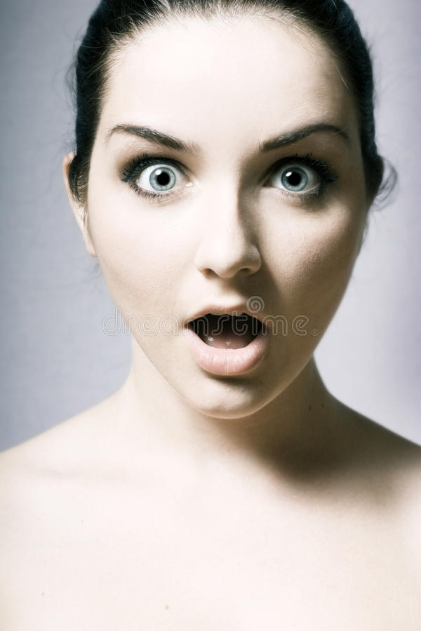 Download Shocked woman stock photo. Image of attractive, alarmed - 11246026