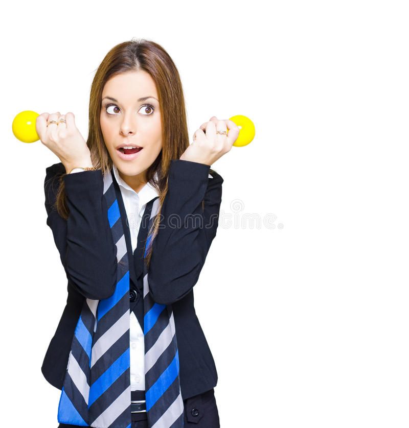 Download Shocked Woman With Ideas Of Business Innovation Stock Photo - Image: 20019506