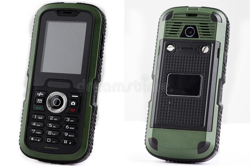 Download Shockproof Mobile Phone Stock Photo - Image: 83700352