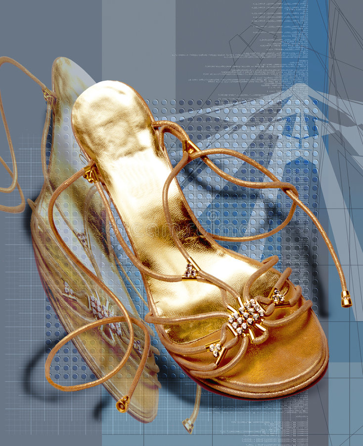 Shoe 1 royalty free stock photos