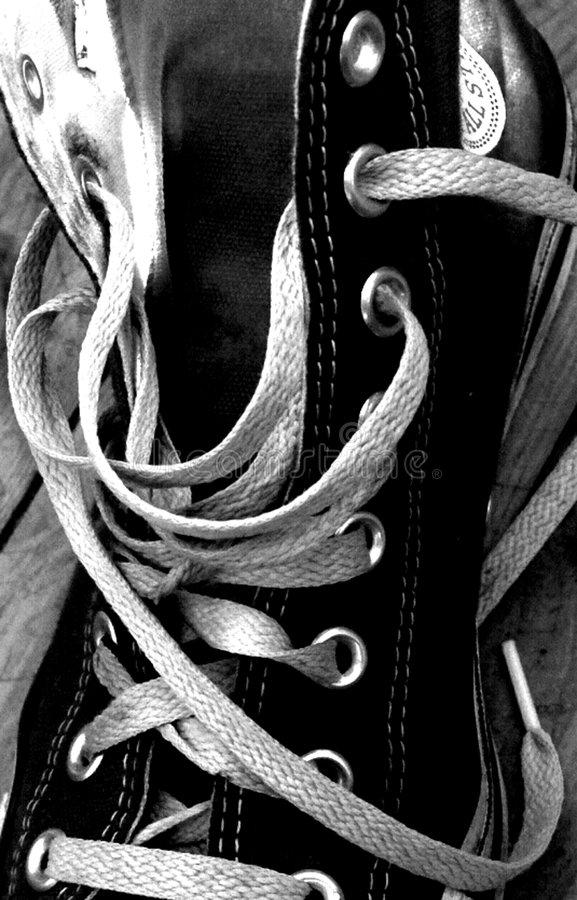 Download Shoe stock photo. Image of laces, white, sole, black, torch - 470576
