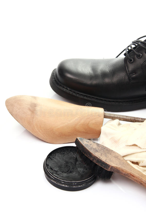 Download Shoe care stock image. Image of mens, creme, formal, fashion - 12744733