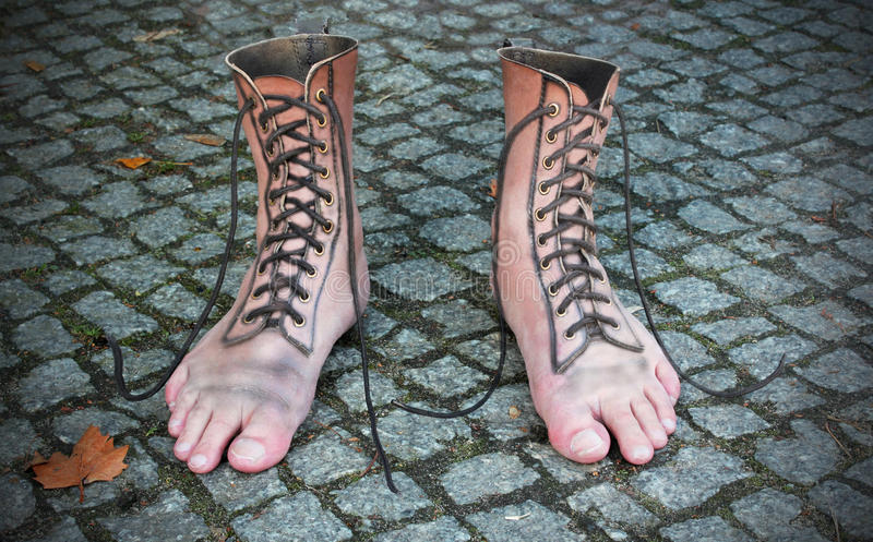 Download Shoe Fashion stock image. Image of fashion, surreal, street - 27137611