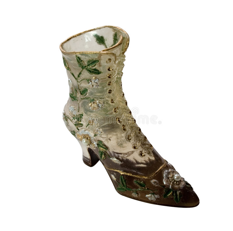 Download Shoe-Flowers (miniatures) Series Stock Image - Image of boots, white: 4303661