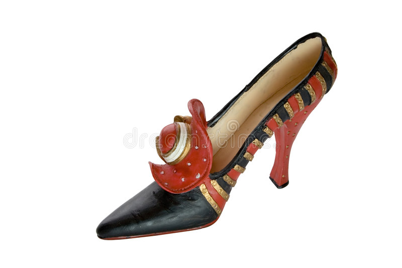 Download Shoe-Flowers (miniatures) Series Stock Image - Image: 4371881