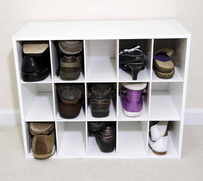 Shoe organazer stock images