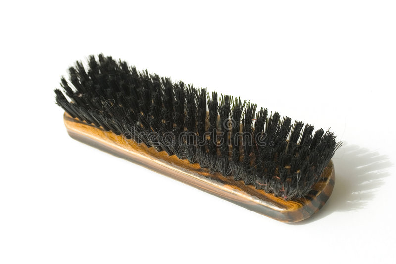 Download Shoe shine brush stock photo. Image of black, hair, smell - 1792876