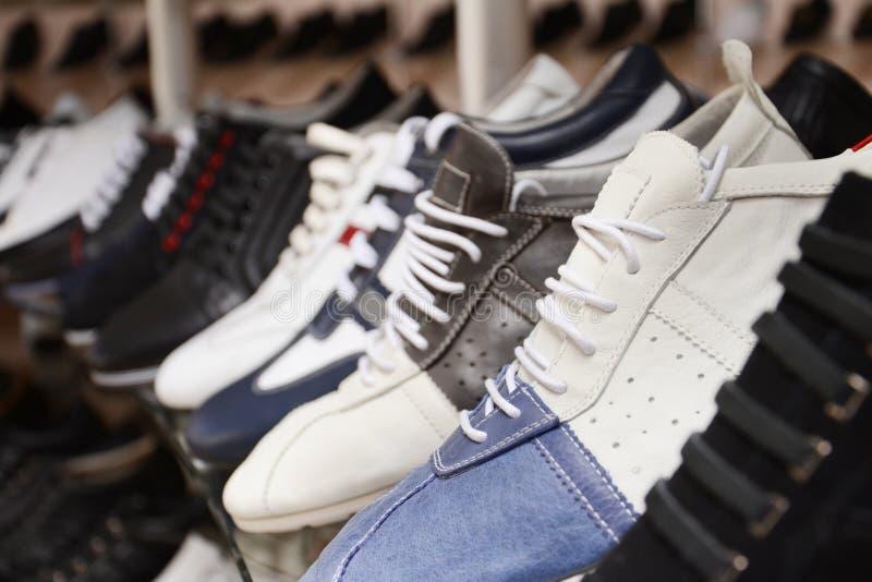 Shoe Shop Royalty Free Stock Photos
