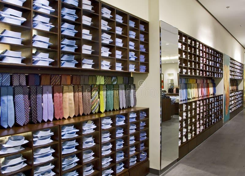 Shoe shop stock image