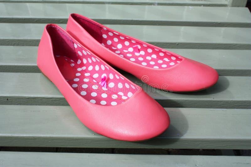 shoe slipen royaltyfria foton