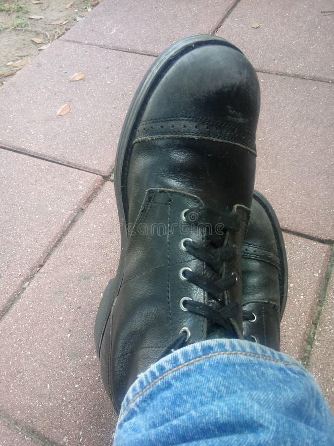 Shoe Voyeur stock photography