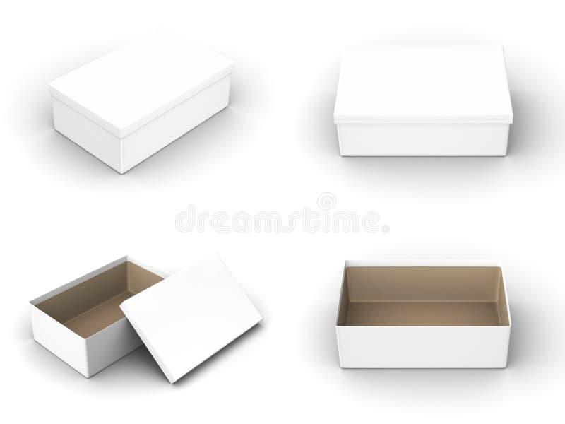 Shoebox illustration de vecteur