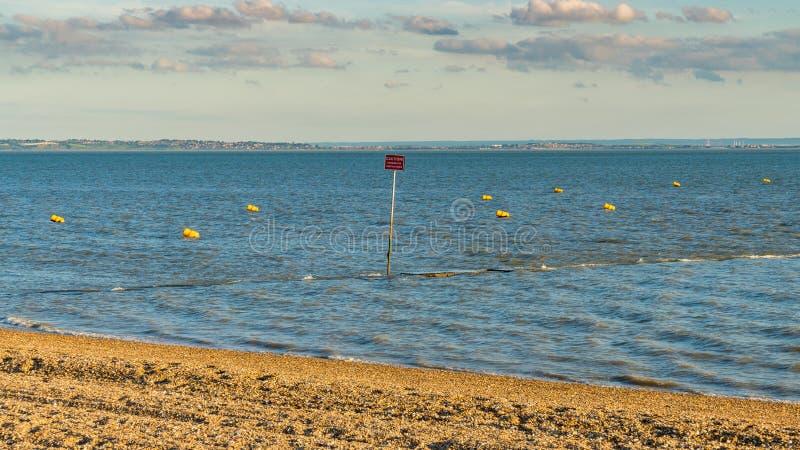 Shoeburyness, Southend-auf-Meer, Essex, England, Großbritannien lizenzfreie stockfotos
