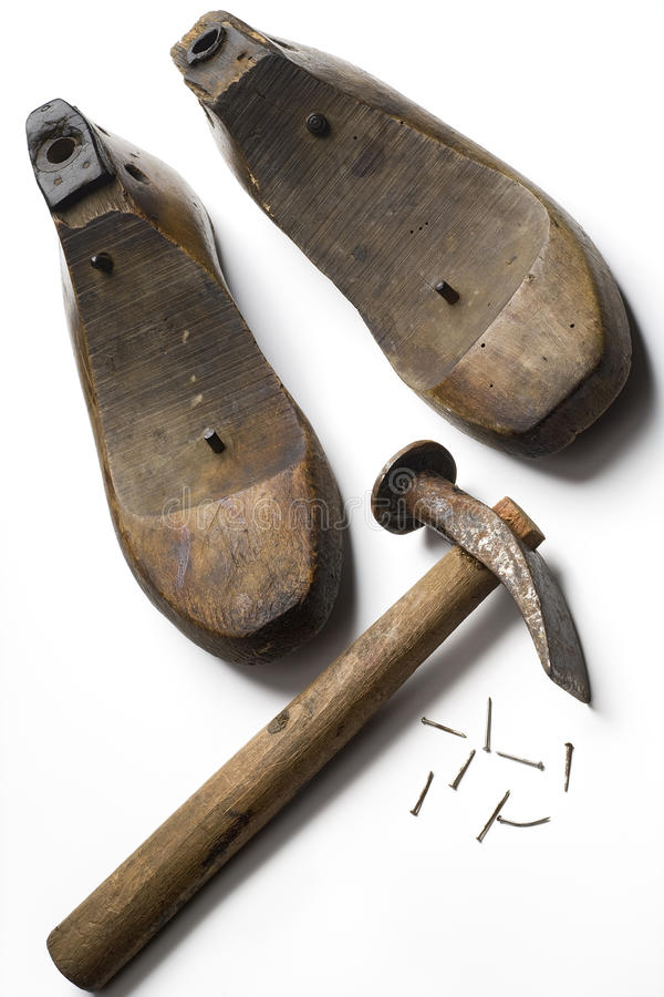 Download Shoemaking stock image. Image of tools, isolated, trade - 10863581