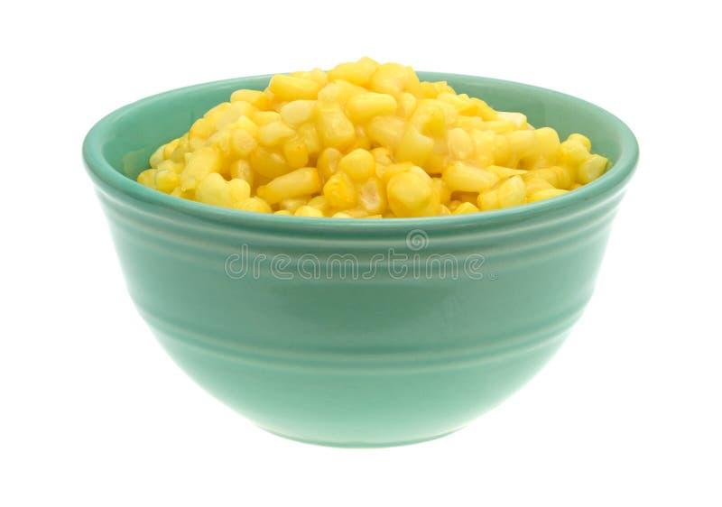 Shoepeg wit graan met een botersaus in een kom royalty-vrije stock foto