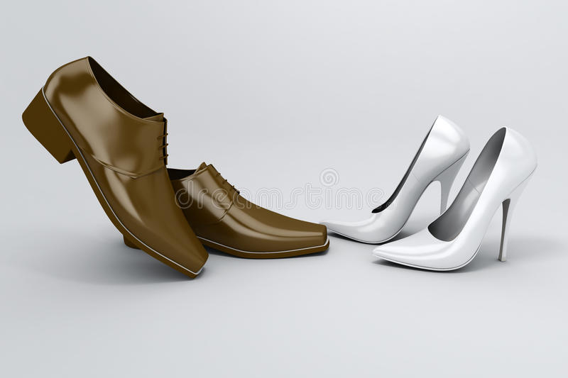 Download Shoes stock illustration. Image of style, object, stiletto - 13185210