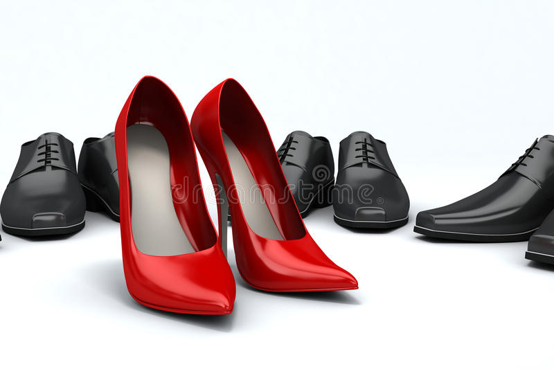 Download Shoes stock illustration. Illustration of luxury, plate - 13329247