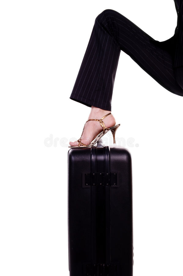 Download Shoes stock photo. Image of pass, body, luggage, style - 1402628