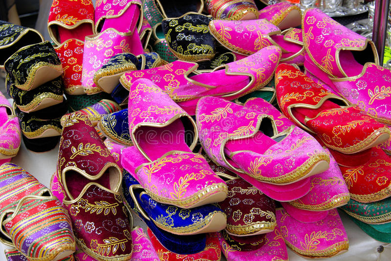 Download Shoes stock photo. Image of pattern, moroccan, leather - 14078196