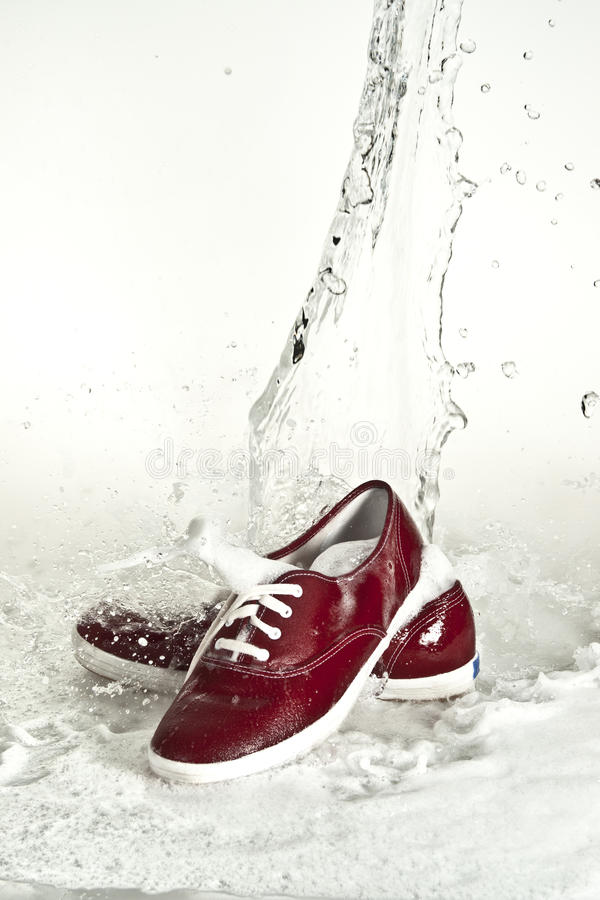 Download Shoes stock photo. Image of detergent, health, bubles - 16169852
