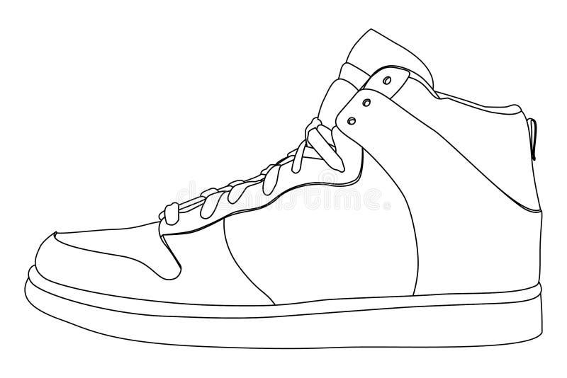 Shoes royalty free illustration