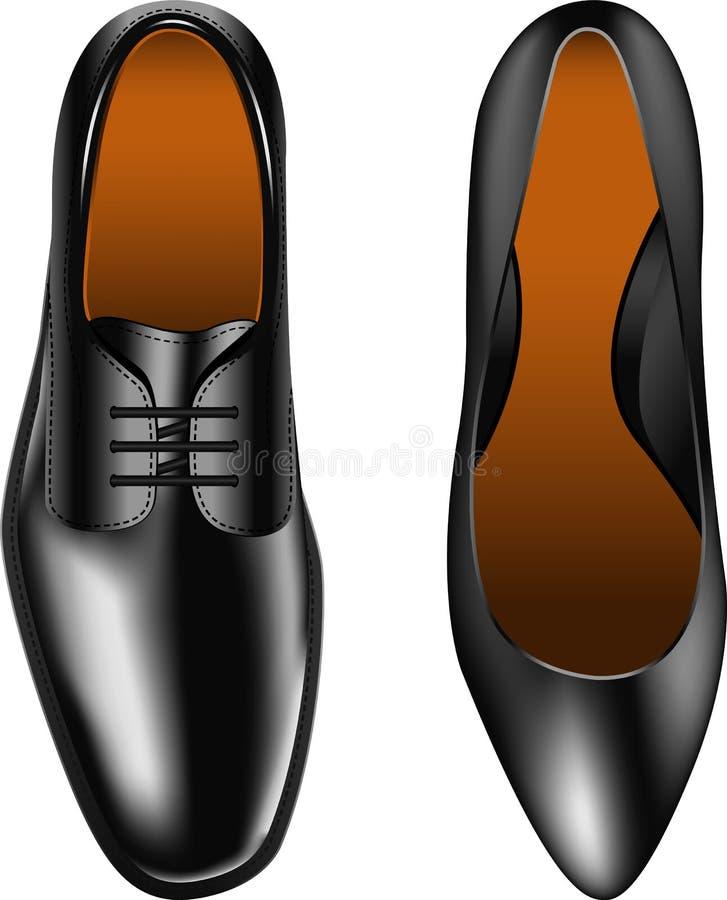 Download Shoes stock vector. Illustration of walking, design, dress - 19539419