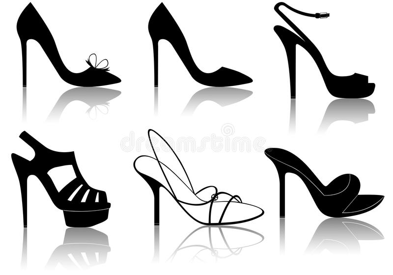 Download Shoes stock illustration. Illustration of collage, different - 27388756