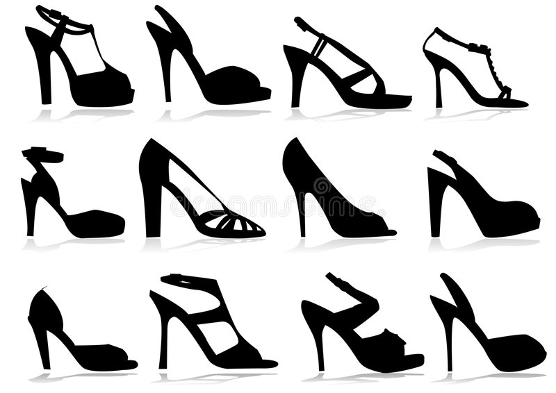 Shoes stock illustration