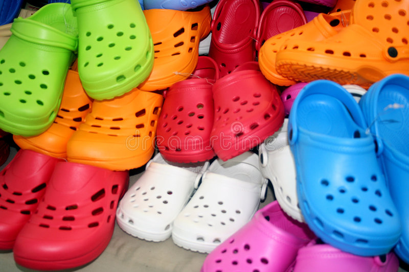 Rubber Slipper Shoes royalty free stock images