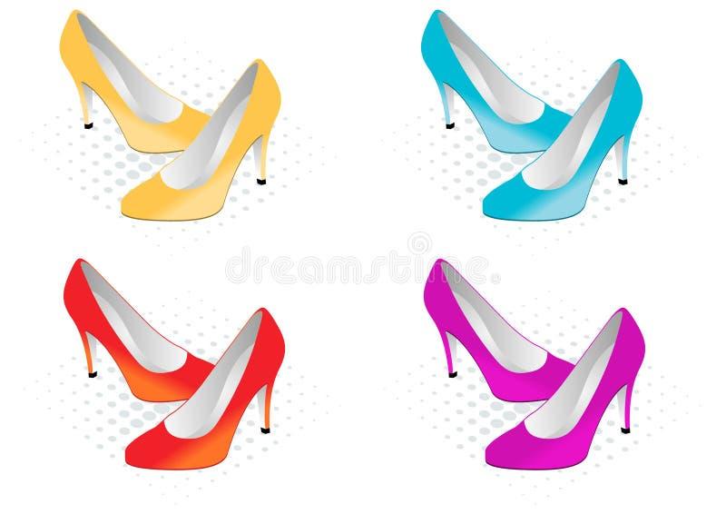 Shoes vector illustration