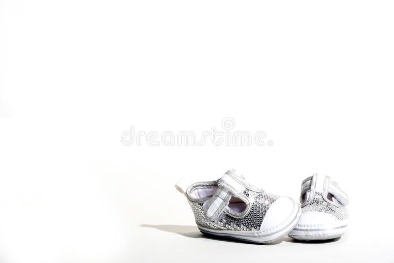 Shoes baby stock photos
