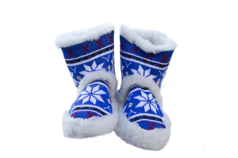 Download Shoes for home stock photo. Image of wool, winter, knitted - 27711098