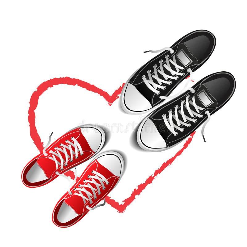 Shoes illustration vector illustration