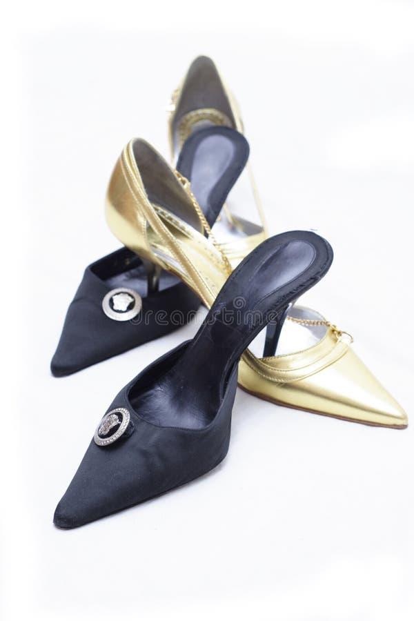 shoes kvinnor arkivbilder