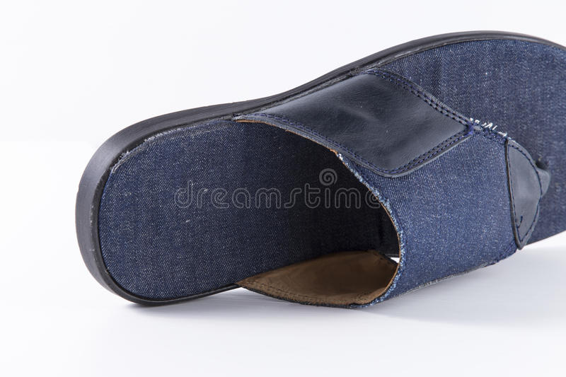Shoes leather stock photo