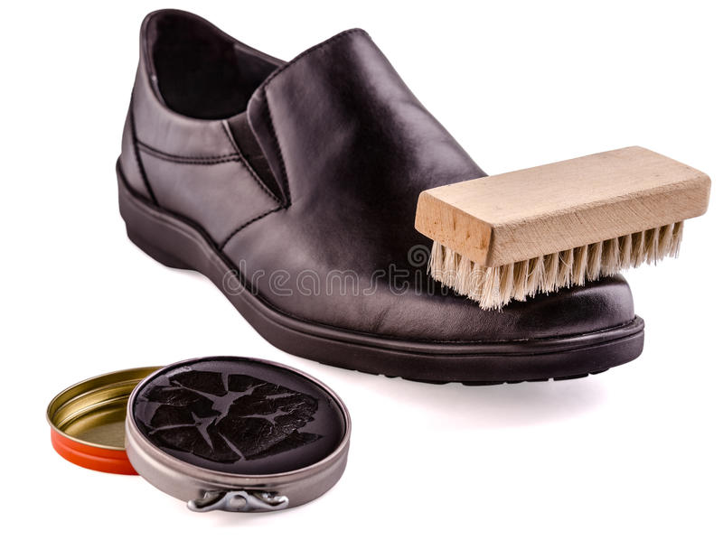 Download Shoes and shoe cream stock image. Image of elegance, preparation - 37530341
