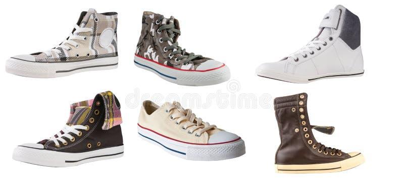 shoes sporten arkivbild