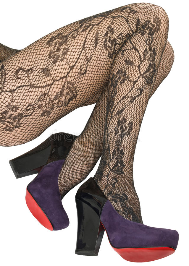 Download Shoes And Stockings, Pantyhose. Stock Photo - Image: 12223346