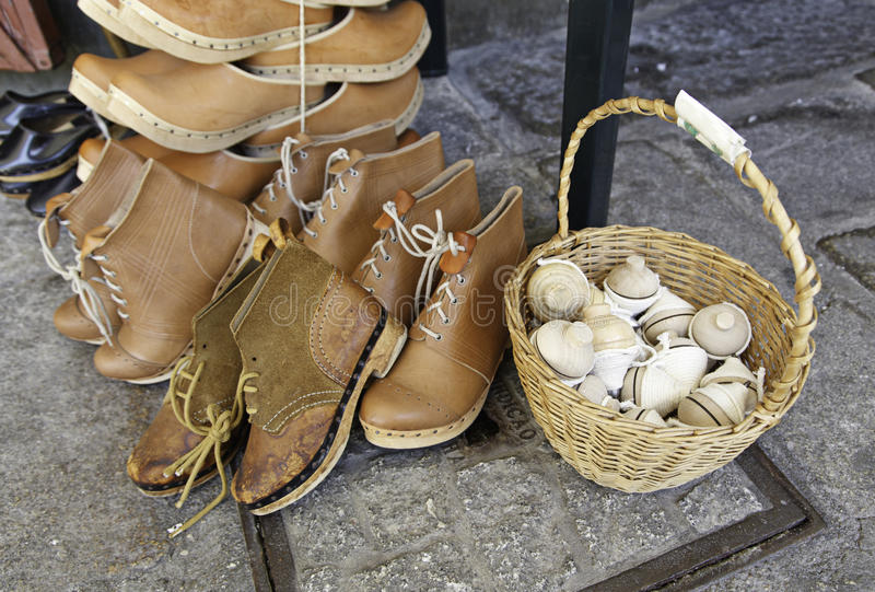 Download Shoes and tops stock image. Image of craft, street, shoes - 26204835