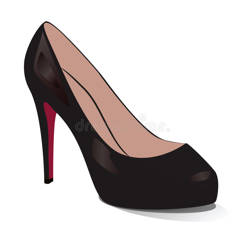 Shoes. Vector Illustration Royalty Free Stock Photos