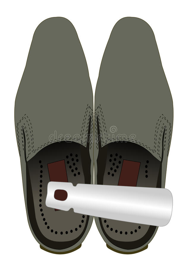 Free Shoes With A Shoehorn Stock Images - 19850794