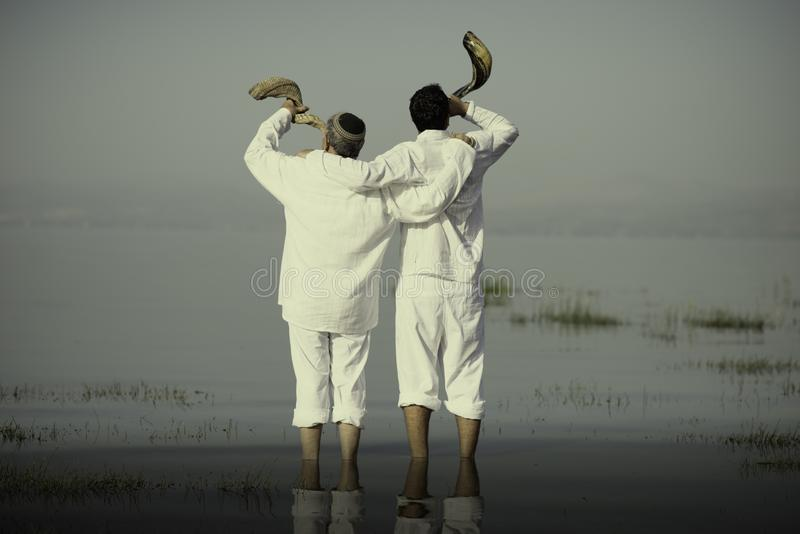 Shofar στοκ εικόνα με δικαίωμα ελεύθερης χρήσης