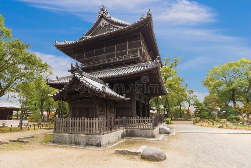 Shofukuji Zen Temple em Fukuoka, Japão foto de stock