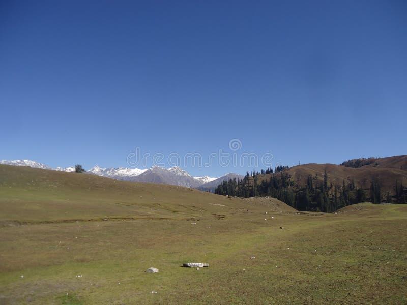 Shogran-Hügelstation Pakistan lizenzfreies stockfoto