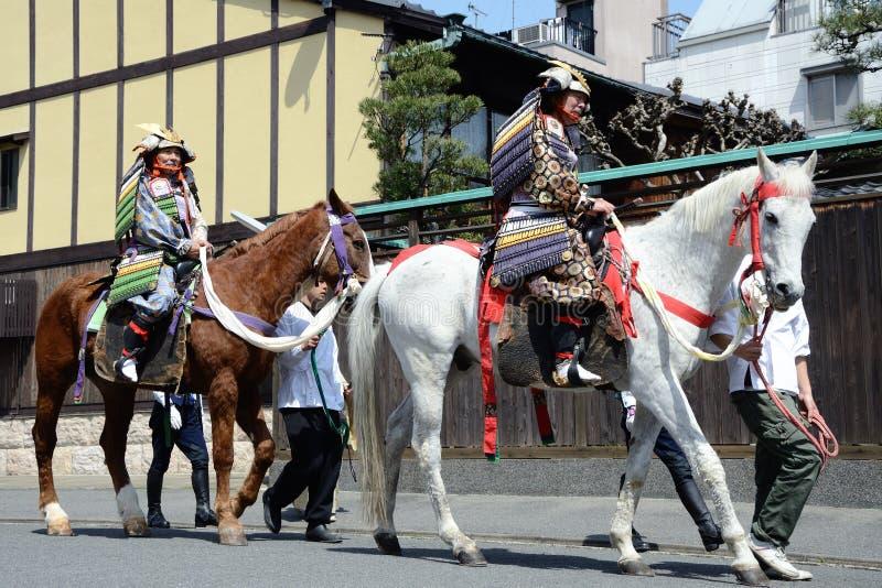 Download Shogun ride a horse editorial stock image. Image of sengoku - 19299044