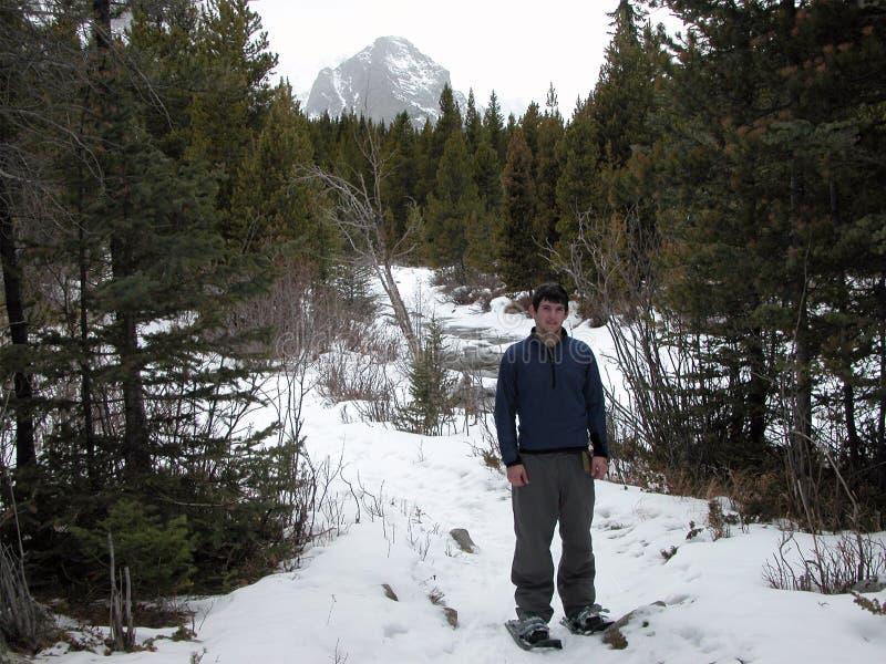shoing χιόνι στοκ φωτογραφία με δικαίωμα ελεύθερης χρήσης