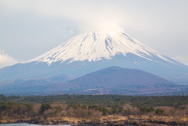 Shoji do lago e montanha Fuji fotos de stock